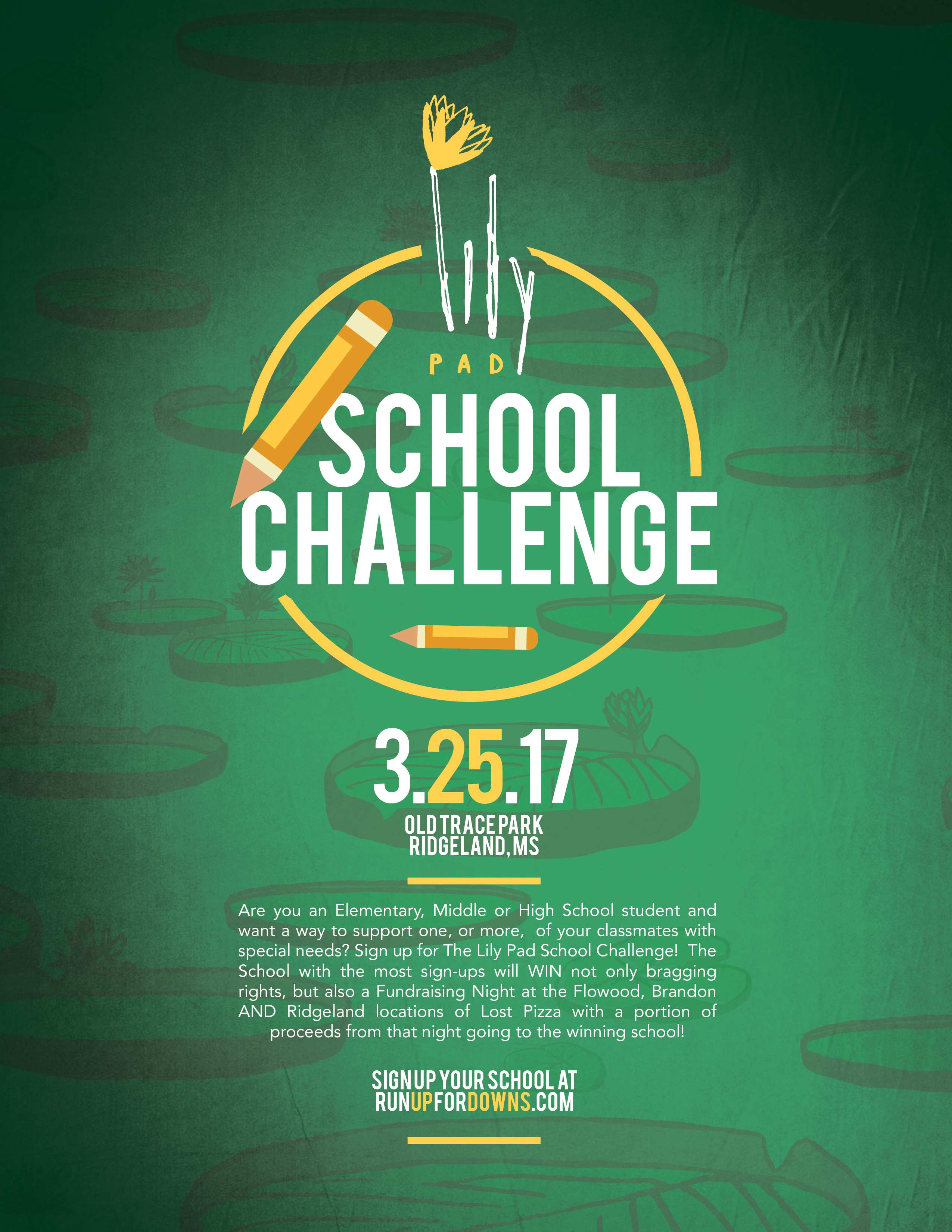Click HERE to Download a Flyer for the School Challenge